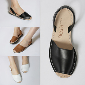 [IS11171]-Slingback flat shoes (3 color)